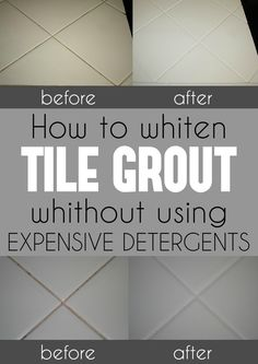 File this under: life hacks. Spring is here, or at least for some of us, and that means lots of cleaning. We've rounded up ten more easy life hacks that aim … Cleaning Floor Grout, Clean Tile Grout, Toilet Cleaning, Bathroom Cleaning, How To Clean Grout, Clean Tile Floors, Clean Bathroom Grout, Deep Cleaning Tips, House Cleaning Tips