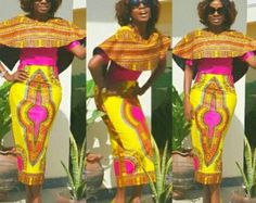 NuVu Jacket with peplum and Pants african jumpsuit by HouseOfIzzi …