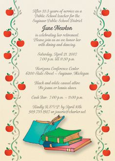 Great Retirement Party Invitations  Best Invitations Via