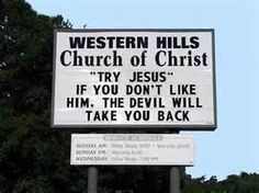 Image Search Results for funny church signs