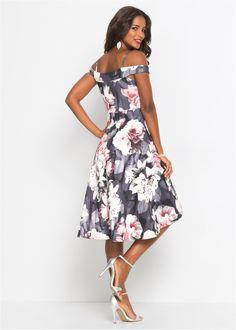 ecc05b34a7d7 Beställ Blommönstrad klänning svart/grå/rosa nu från 399.- kr i online