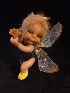 "ooak baby miniature ""Dilly""  fairy faerie  woodland sprite by No Tua Lyke"
