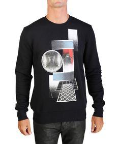 DIOR Dior Homme Men's Pharoah Graphic Lightweight Cotton Crewneck Sweatshirt Black. #dior #cloth #