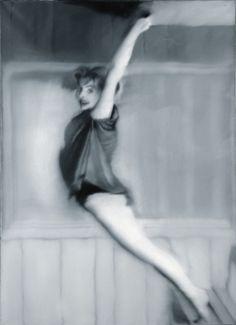 Gerhard Richter, Gymnastik (Gymnastics) 1967, 110 cm x 80 cm, Catalogue Raisonné: 156, Oil on canvas