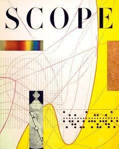 "Will Burtin - Magazine ""Scope"" pour les labos UPJOHN, entreprise pharmaceutique."