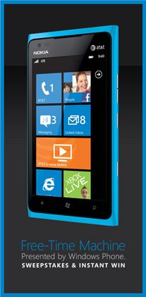 @WindowsPhone makes everyday faster. Enter to a Hawaiian vacation or other instant prizes! www.freetimemachine.com