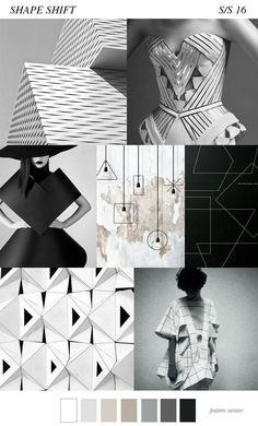 3 Pattern Trends in Muted Colours. Graphic design and digital art inspiration 2016 Fashion Trends, 2016 Trends, Fashion 2018, Fashion Online, Fashion Tips, Fashion Colours, Colorful Fashion, Geometric Fashion, Trendy Fashion
