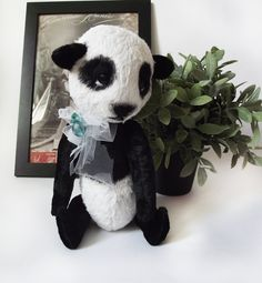 Panda Yuki Artist Bear Kawaii OOAK