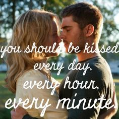 The Lucky One~ Nicholas Sparks Nicholas Sparks Zitate, Nicholas Sparks Quotes, The Lucky One Movie, Love Movie, The Lucky One Quotes, Romantic Movie Quotes, Favorite Movie Quotes, Shia Labeouf, Zac Efron