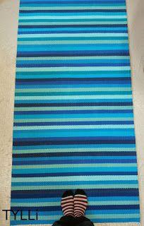 Rag Rugs, Loom Weaving, Diy Woodworking, Scandinavian Style, Shawl, Pattern Design, Diy And Crafts, Outdoor Blanket, Room Decor