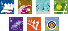 Paul Smith designed the stamps for London Olympic
