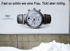 IWC Werbung