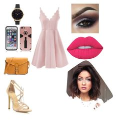 """""""Untitled #1001"""" by glamor234 ❤ liked on Polyvore featuring Olivia Burton and Lime Crime"""