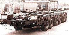 MAZ-7904 - A hidegháború egyik legmegalománabb gépszörnye.