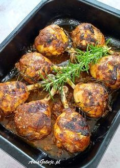 Polish Recipes, Tandoori Chicken, Chicken Recipes, Grilling, Recipies, Food Porn, Good Food, Cooking Recipes, Keto