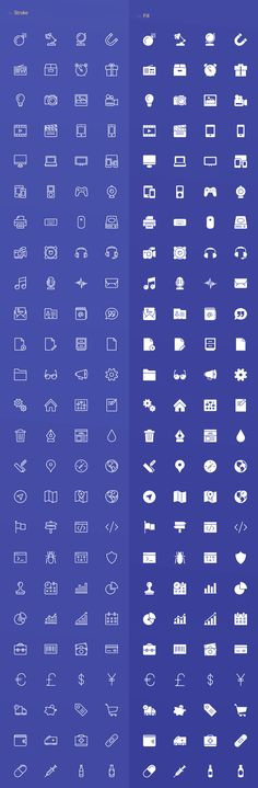 Webicons – 100 Stroke & Fill Icons                                                                                                                                                                                 もっと見る