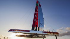 Luna Rossa Challenge Pirahna AC45 catamaran