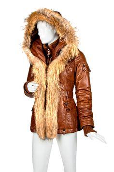 RUDSAK 'Jenny' Lambskin Leather Parka @RUDSAK  #RUDSAK@Sundance