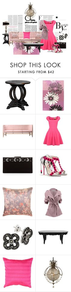 """""""Fashion and Furniture"""" by kathy-paul ❤ liked on Polyvore featuring Surya, Nicki Minaj, &Tradition, Issa, Salvatore Ferragamo, Sonam Life, Pied a Terre, Jil Sander, Bridge Jewelry and Crestview Collection"""