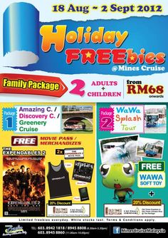 Mines Cruise : Holiday Freebies Free Gifts With Purchase Promotion