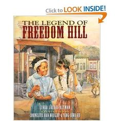 The Legend of Freedom Hill, by Linda Jacobs Altman. Superb story of cross-cultural friendship that also gently introduces kids to the difficult issue of slavery. Ages 7-11.