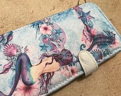 Mermaid Lg G5 Lg G4 Lg G3 case Lg Tribute 5  Lg G Stylo Lg phone Lg phone case magnetic closure by superpowerscases. Explore more products on http://superpowerscases.etsy.com