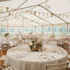 Rural marquee decoration A country wedding at Domaine St Loup in pastel colors, linen and wood - Home Page Verbena, Marquee Decoration, Table Decorations, Deco Champetre, Pastel Colors, Pastels, House In The Woods, Country Decor, Our Wedding