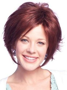Short thick Hairstyles for Oval Faces