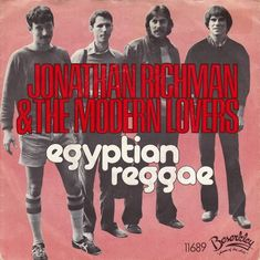 Jonathan Richman The Modern Lovers Egyptian Reggae Miniature Poster With Black Card Frame In 2020 The Modern Lovers Jonathan Richman Reggae