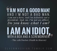 Twelfth doctor quotes Death in Heaven Doctor Who