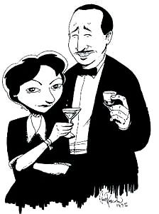 "Dorothy Parker on sharing space with Robert Benchley while working on ""Vanity Fair"" magazine: ""He and I had an office so tiny that an inch smaller and it would have been adultery."""