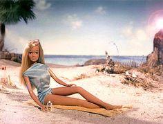 in 1970's iconic Malibu Barbie emerged.