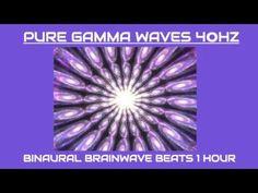 Pure Gamma Waves 40Hz 1 Hour - Brain wave entrainment