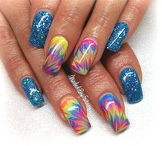 HAPPY by NailedByStacy - Nail Art Gallery nailartgallery.nailsmag.com by Nails Magazine www.nailsmag.com #nailart