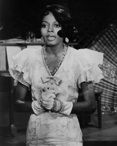 As Billie Holiday in Lady Sings the Blues (1972).