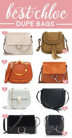 A round-up of all the best Chloe dupe bags in one place! Click through to check out all eight Chloe look alike bags (and where to buy them) by southern fashion blogger Stephanie Ziajka from Diary of a Debutante | Chloe Faye dupe bag | 8 Chloe bag replicas that look just like the real deal | best designer dupes on Amazon #chloe#dupe#handbags #amazon