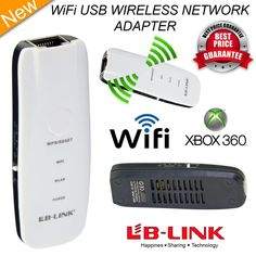 USB WIRELESS WiFi  N NETWORK ADAPTER for XBOX 360 CONSOLE DK