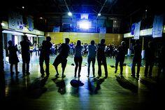 Teaching dancing - Barretstown  Love it - great memories wonderful place :)