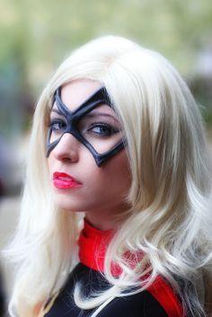 Ms. Marvel (Avengers) Katy Mor (Az Huntress) 2013 Amazing Arizona Comic Con