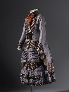 Girl's Dress 1876 The Los Angeles County Museum of Art