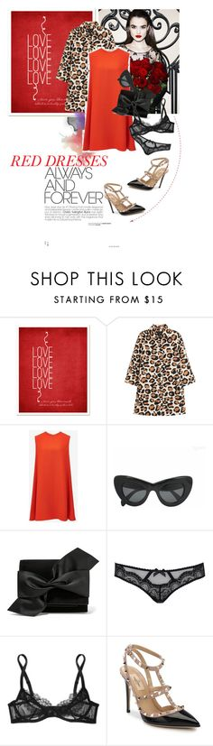 """""""O my Luve is like the melody"""" by glamrockandlove ❤ liked on Polyvore featuring Marc by Marc Jacobs, McQ by Alexander McQueen, CÉLINE, Victoria Beckham, L'Agent By Agent Provocateur, Valentino, women's clothing, women, female and woman"""