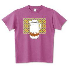 花柄ポット Tee  |  Japanese Retro design Pot Tee デザインTシャツ通販 T-SHIRTS TRINITY(Tシャツトリニティ)