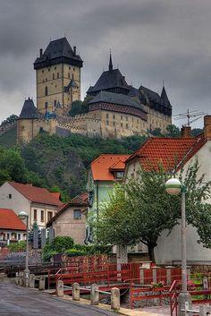 Karlstejn Castle, Czech Republic ♠ re-pinned by http://www.waterfront-properties.com/