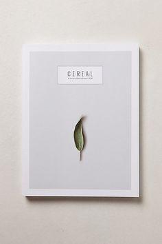 Cereal Magazine No. 3 #anthropologie