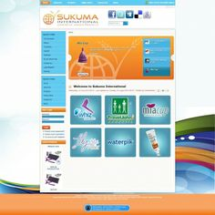 Sukuma International approached Vertex Central to redesign their site and optimize it in such a way as to extend their reach and maximize their clientele. #CMS #Joomla #webdesign #blue #orange #design