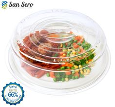 Amazon.com: BEST Microwave Cover: - Saves 66% Energy - Perfect Splatter Guard - Cooks Your Food Quicker: Cookware Lids: Kitchen & Dining Splatter Guard, Different Recipes, Cookware, Kitchen Dining, Food To Make, Microwave, Cooking, Cover, Easy