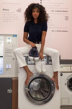 Tennis Bensimon B79 Tennis, Washing Machine, Home Appliances, Baby Born, Trainers, House Appliances, Washer, Appliances, Sneaker
