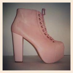 #JeffreyCampbell #LitaFur in Pink/Pink from #eBay