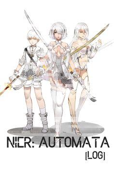 NieR: Automata YoRHa 2B, 9S, A2