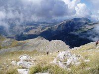 Pollino National Park The Pollino is the largest italian national park. It was set to preserve the rare Loricato pine. The area is formed by dolomitic rocks, morainic deposits, glacial cirques, scattered with gorges and caves. The highest peaks, over 2200 m above ...